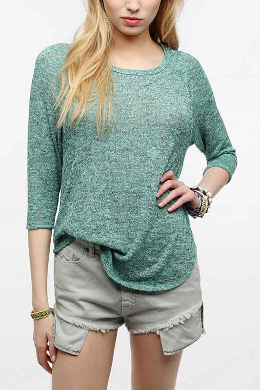 Sparkle & Fade Slouch Raglan Sweater