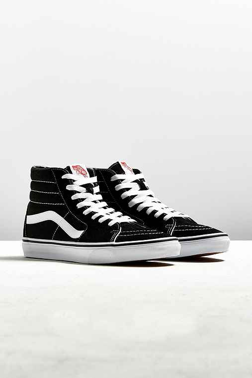 Vans Sk8-Hi Classic Sneaker,BLACK,7