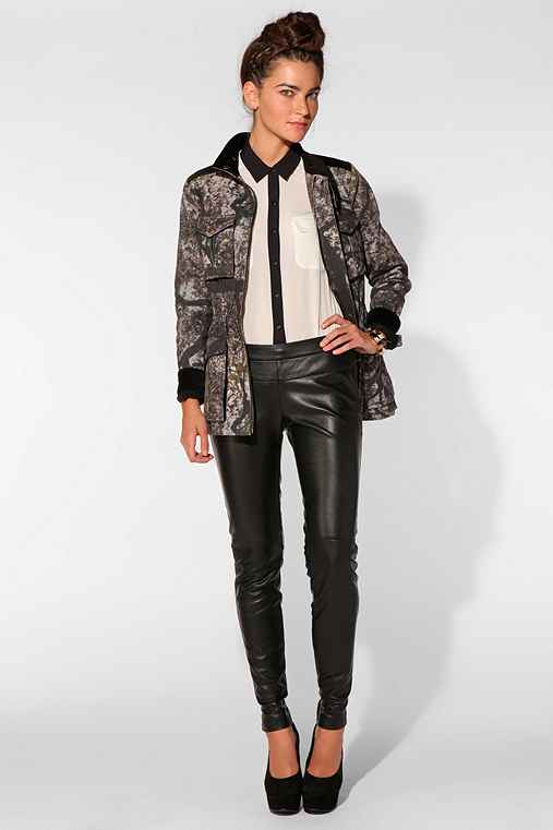 Daryl K X UO Faux Leather Pant