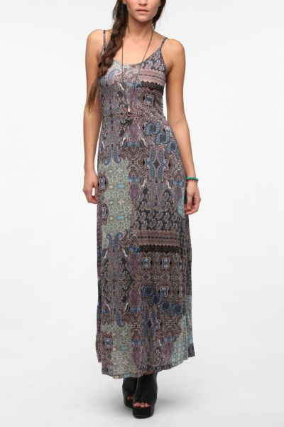 Staring At Stars Knit Cutout Maxi Dress