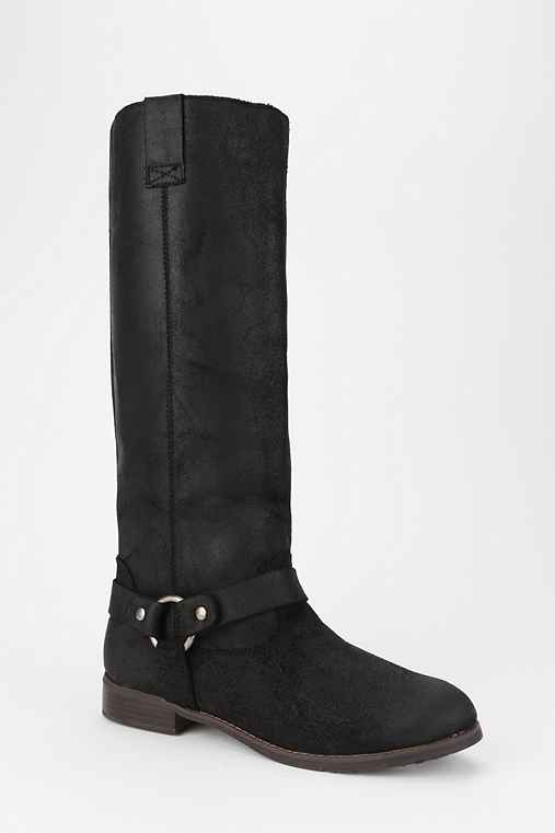 DV By Dolce Vita Marko Suede Harness Boot