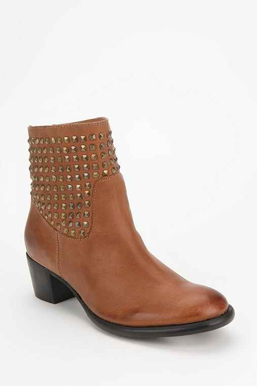 Dolce Vita Mella Studded Leather Ankle Boot
