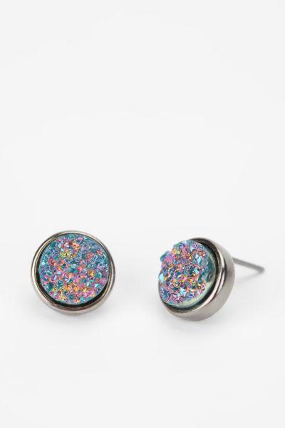 Druzy Stone Earring