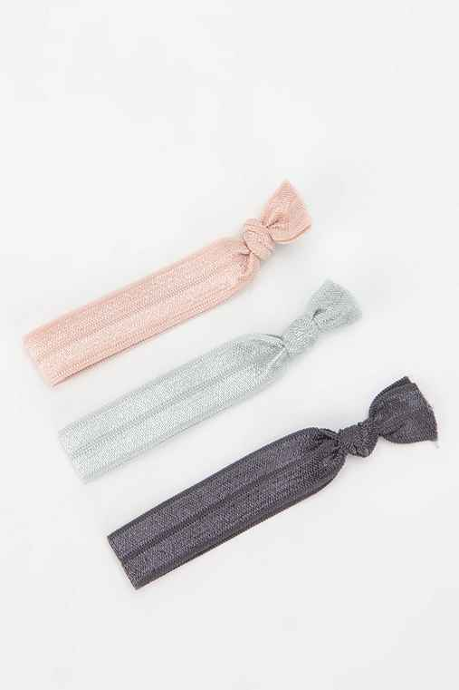 Stretchy Ponytail Holder - Set of 3