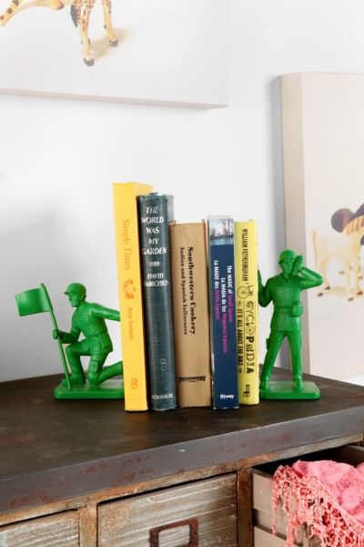 Toy Soldier Bookend - Set Of 2