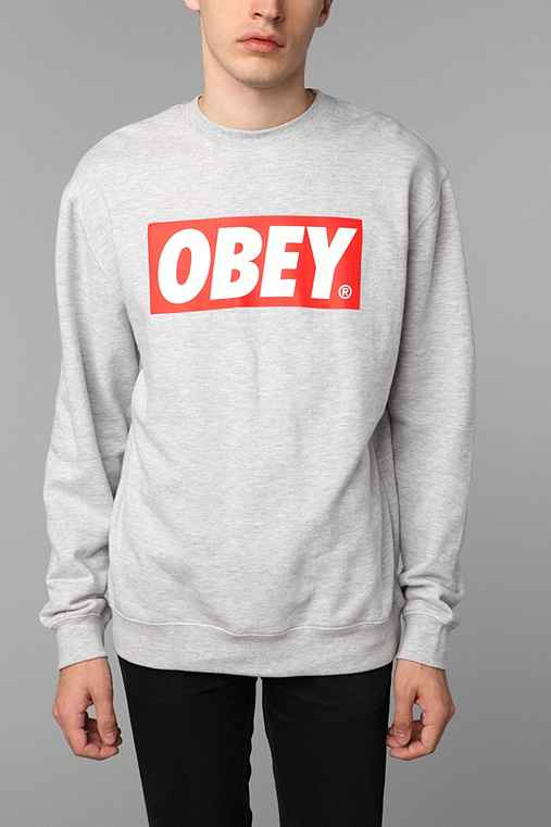 OBEY The Box Crew Sweatshirt