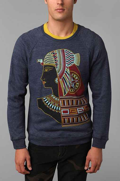 OBEY Queens Of The Nile Pullover Sweatshirt