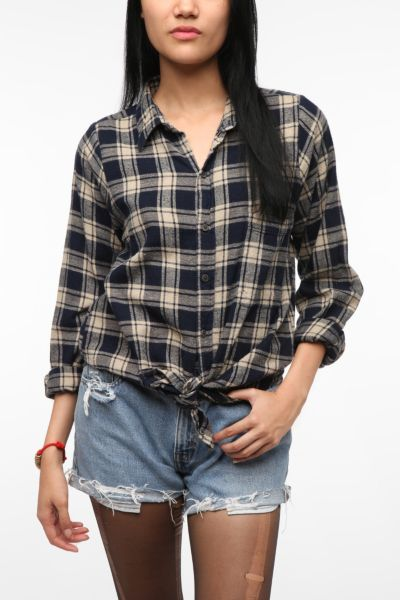 Urban Renewal Boyfriend Flannel Shirt