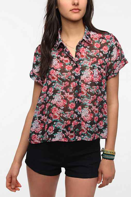 Band Of Gypsies Chiffon Blouse
