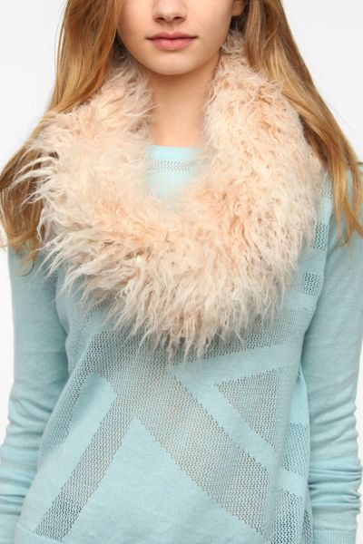 Faux Fur Snood Scarf