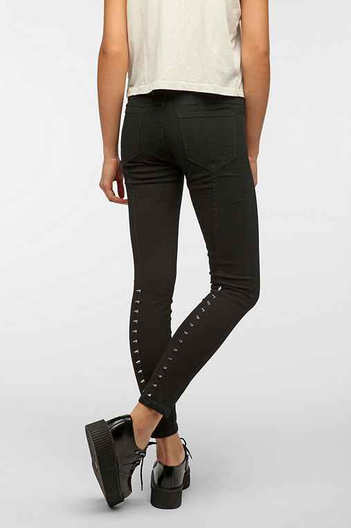 BDG Back-Spike Studded Skinny Jean