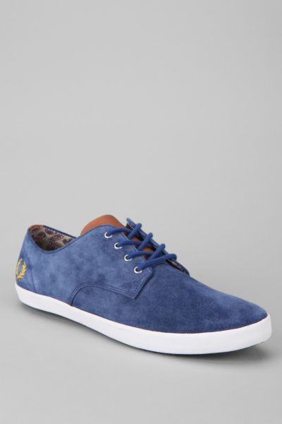 Fred Perry Foxx Suede Shoe