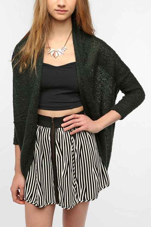 Sparkle & Fade Boucle Cocoon Cardigan