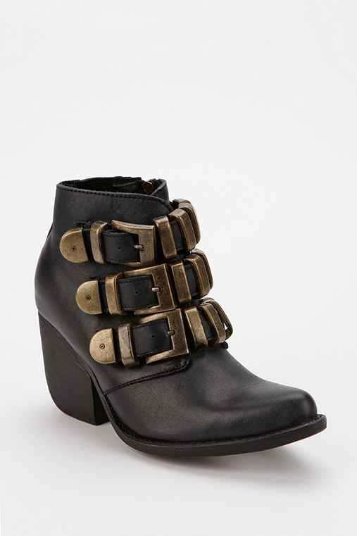 Jeffrey Campbell Triple-Chain Moto Boot