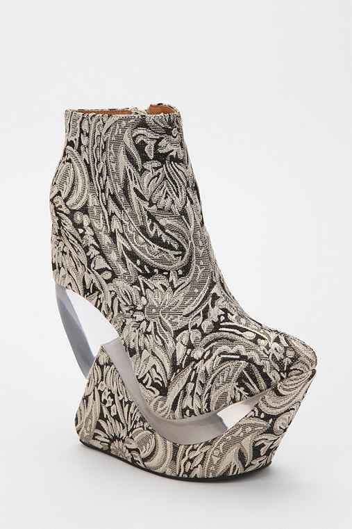 Jeffrey Campbell Zoom Tapestry Platform Wedge