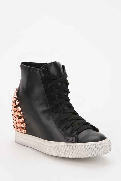 Jeffrey Campbell Edea Hidden Wedge High-Top Sneaker