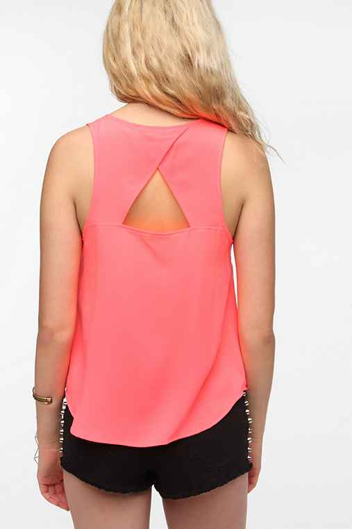 Jack By BB Dakota Samie Open-Back Tank Top