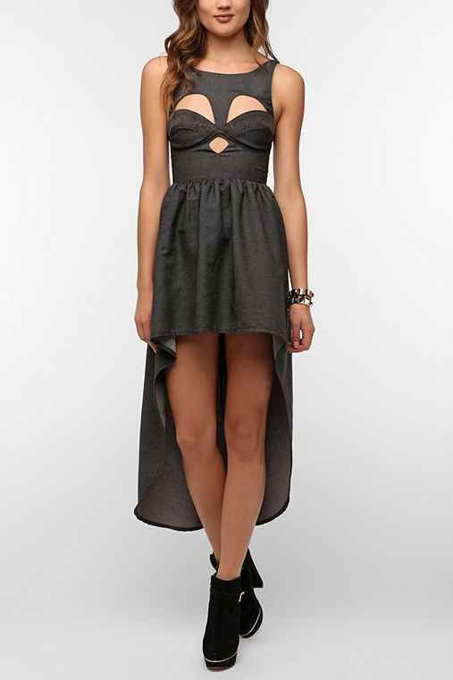 This Is A Love Song Del Rey Bustier Dress