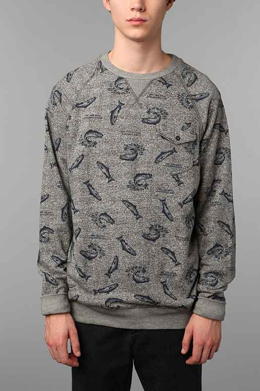 Vans Trout Crew Fleece Sweatshirt