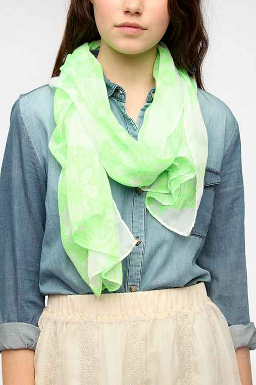 Deena & Ozzy Neon Lace Scarf
