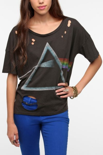 Freeze Pink Floyd Shredded Prism Tee