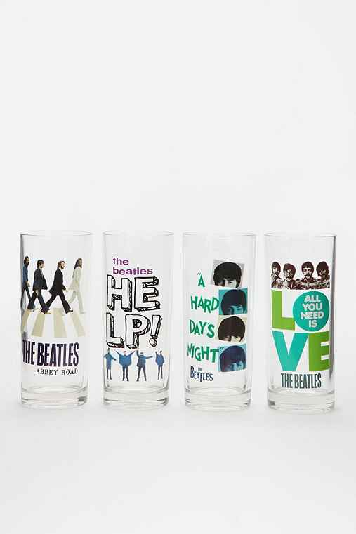 The Beatles Cocktail Glass - Set Of 4