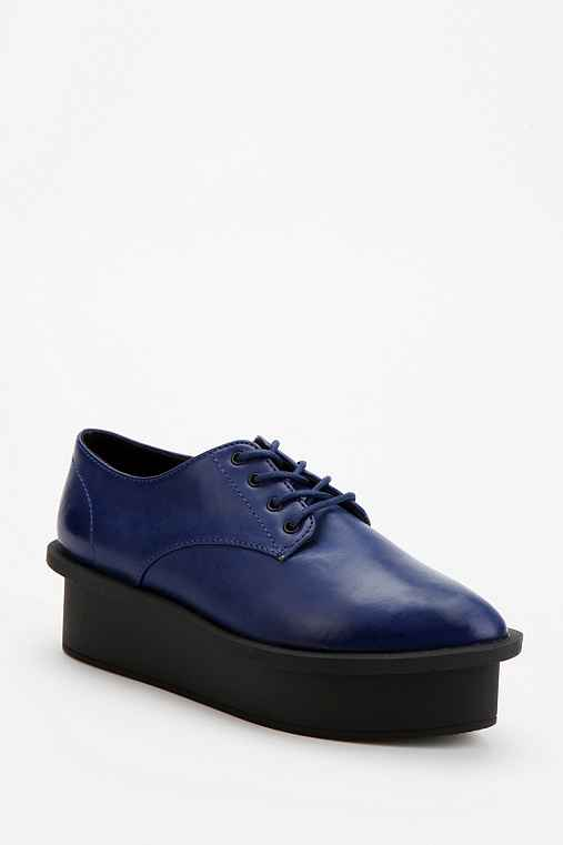 Cheap Monday Leather Oxford Flatform