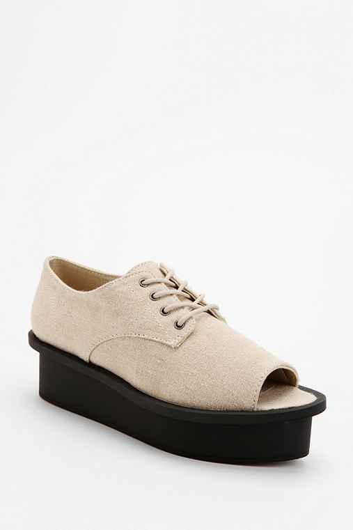 Cheap Monday Peep-Toe Oxford Flatform