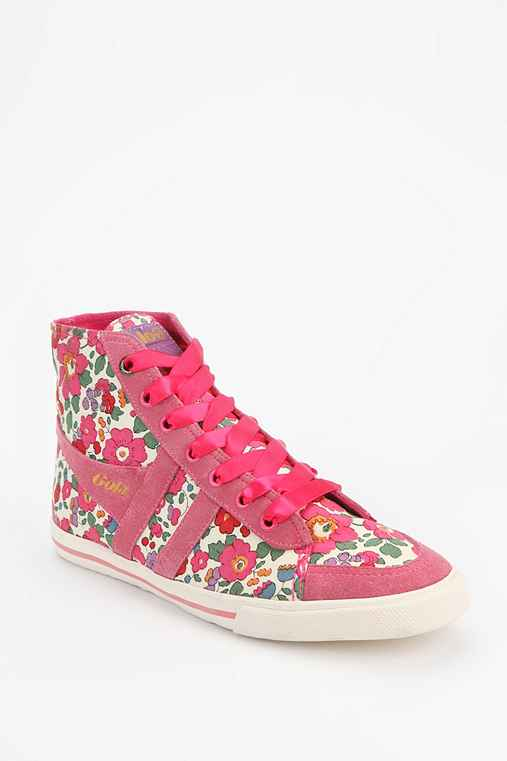 Gola Quota Betsey Floral High-Top Sneaker