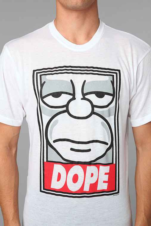 The Simpsons DOPE Tee