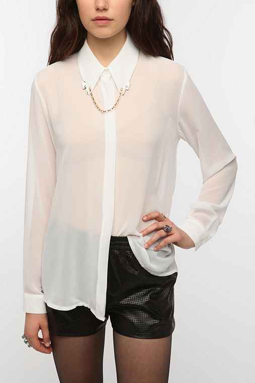 Sister Jane Butcher Knife Chain Blouse