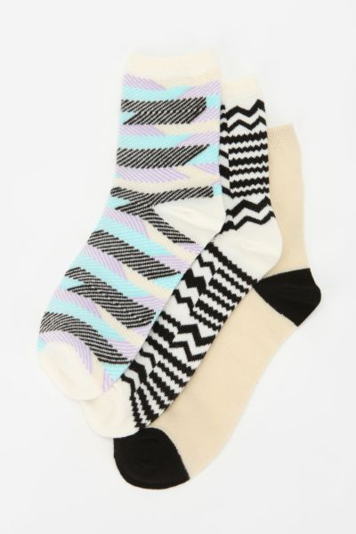 Optique Crew Sock - Pack Of 3