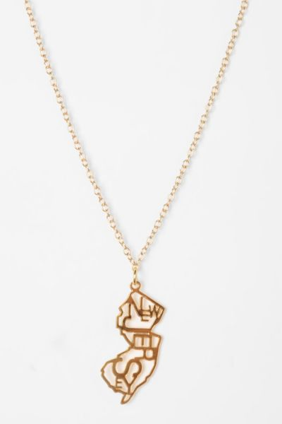 Kris Nations State Charm Necklace