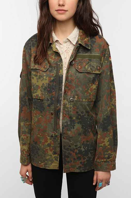 Urban Renewal Vintage German Flectarn Jacket