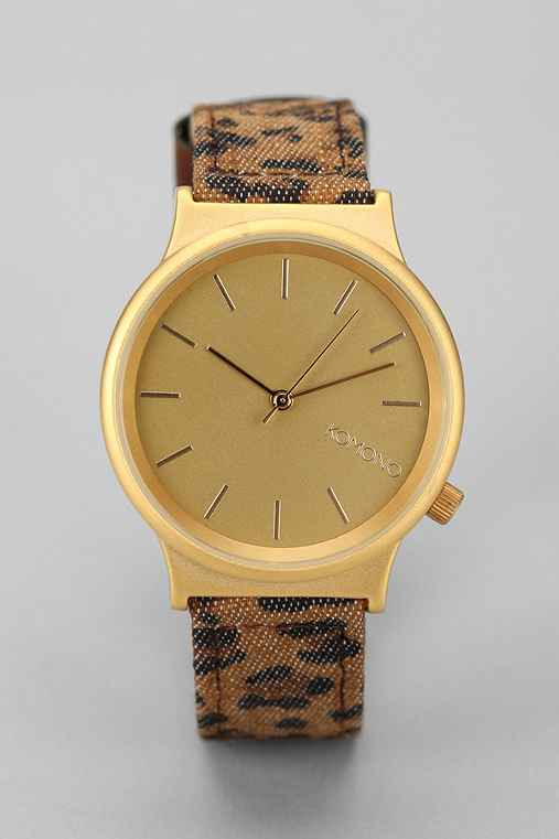 KOMONO Wizard Leopard Watch