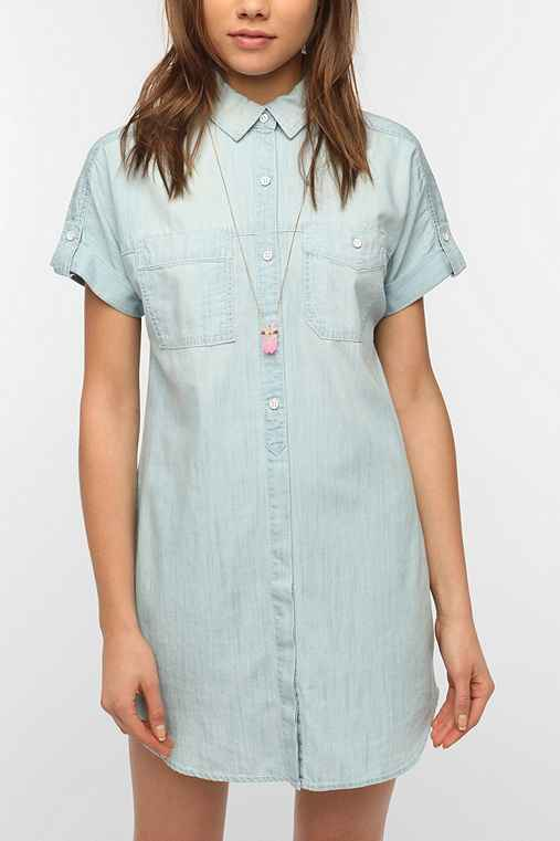 BDG Chambray Frock Dress