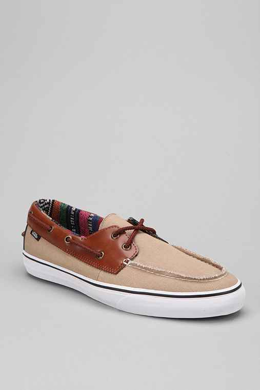 Vans Zapato Striped Lined Men's Boat Shoe