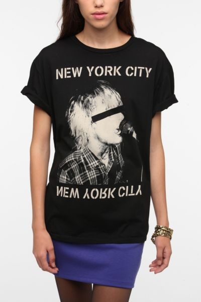 Blood Is The New Black New York City Boyfriend Tee