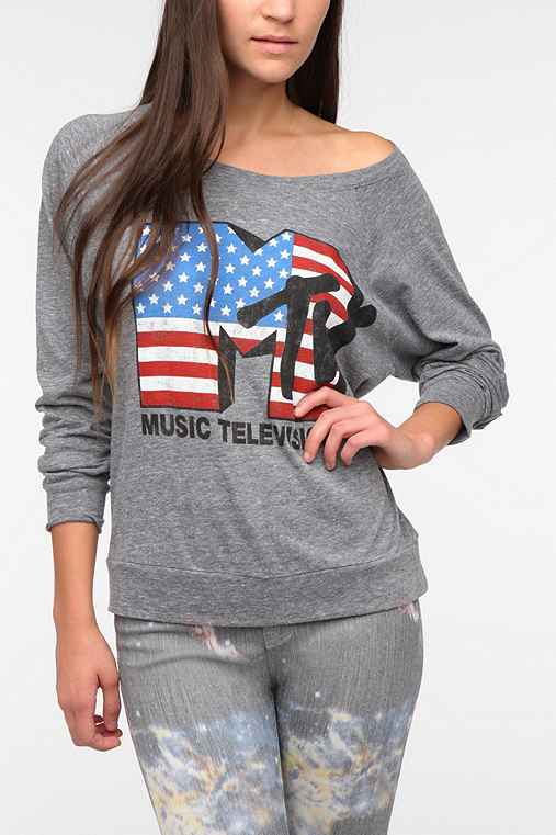 Recycled Karma MTV Long-Sleeved Tee