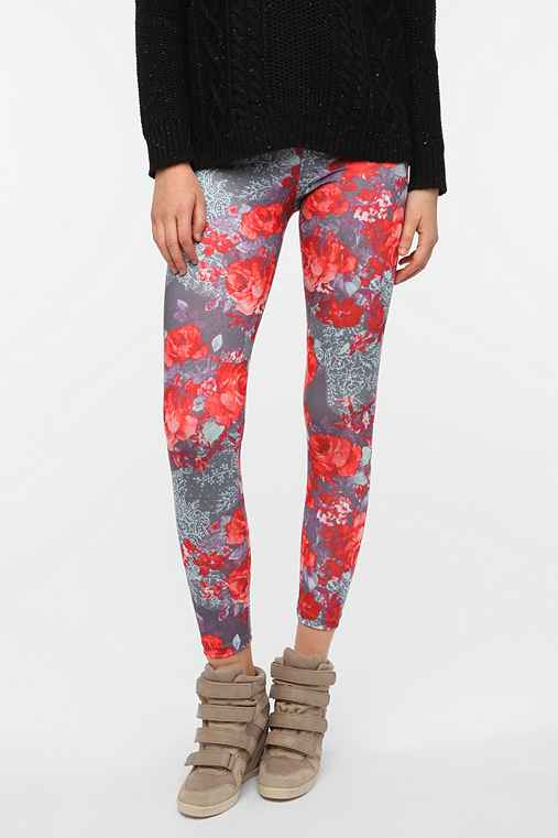 BDG Rose Bouquet High-Rise Legging