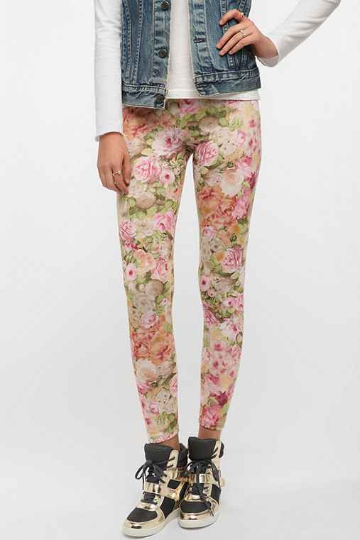 BDG Rose Bouquet High Rise Legging