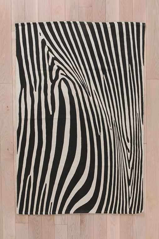 Magical Thinking Zebra Rug