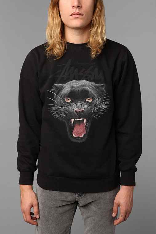 Stussy Panther Pullover Sweatshirt