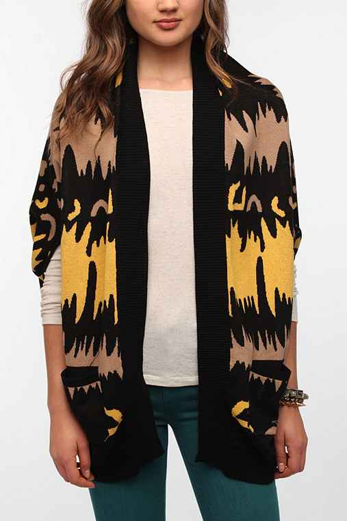 Mad Love Wild Thing Cocoon Cardigan