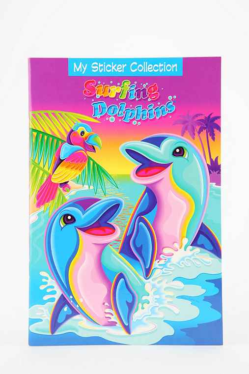 Lisa Frank Limited Edition Vintage My Sticker Collection Sticker Book
