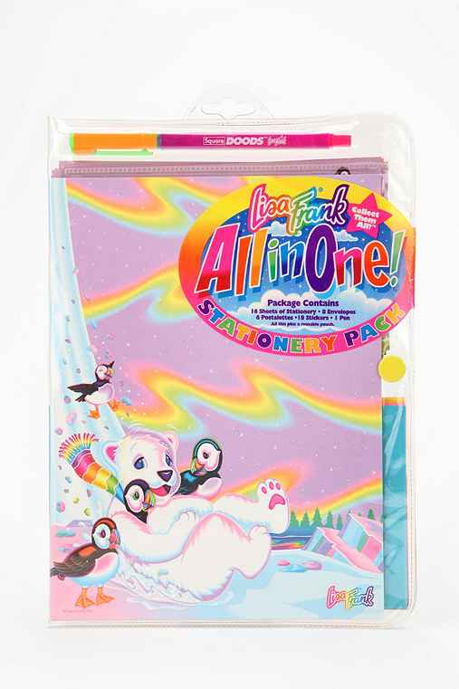 Lisa Frank Limited Edition Vintage All-In-One Stationery Pack