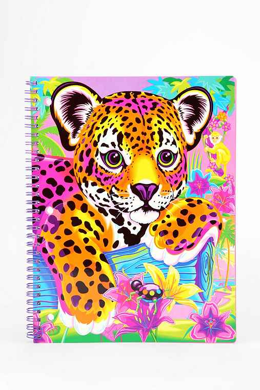 Lisa Frank Limited Edition Vintage Spiral Notebook