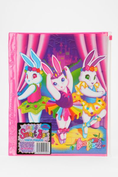 Lisa Frank Limited Edition Vintage Vinyl Zip-Pouch