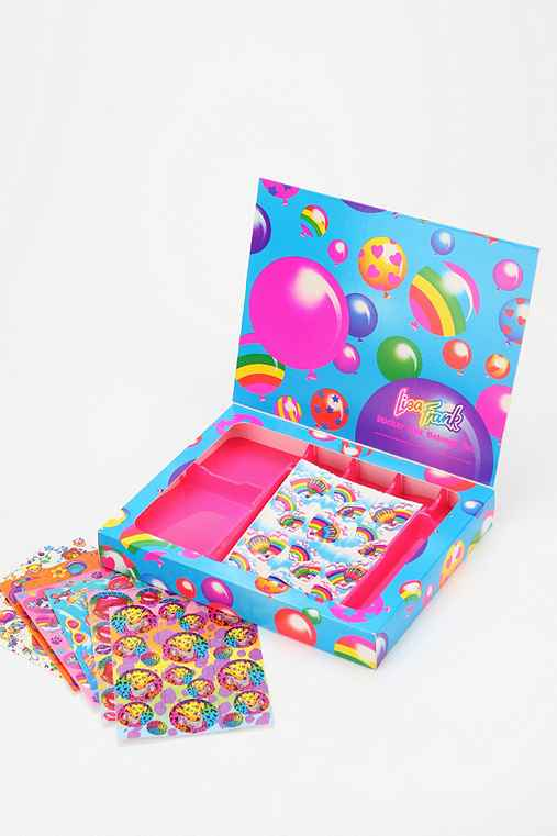 Lisa Frank Limited Edition Vintage Sticker Box