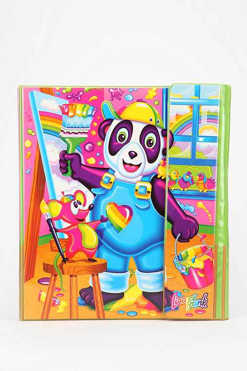 Lisa Frank Limited Edition Vintage Tri-Fold Binder Set
